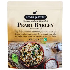 Urban Platter Pearl Barley (Jau), 1Kg [All Natural & Fiber-rich]