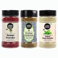 Urban Platter Shaker Jar Combo Pack of Zaatar Powder (100g), Sumac Powder (100g), Dried Mint Powder (70g)