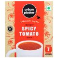 Urban Platter Vegan Instant Spicy Tomato Cup Soup, 140g (7 Sachets)