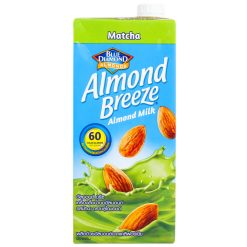 Blue Diamond Almond Breeze Matcha Almond Milk, 946ml