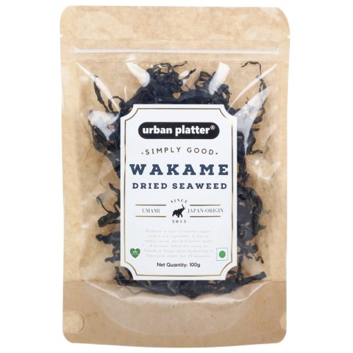 Urban Platter Wakame Seaweed, 100g / 3.5oz [Low Fat, Source of Protein, High Fibre]