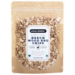 Urban Platter Beech Wood BBQ Chips, 400g [Gourmet Cooking Chips]