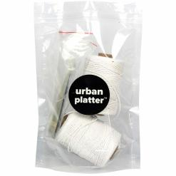 Urban Platter Baker's Kitchen Twine, 100% White Cotton, Pack of 2