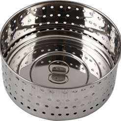 Urban Platter 100% Stainless Steel Paneer/Stainer Mould With Top Press Lid, 500 ml, Size 3