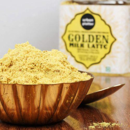 Urban Platter All Natural, Vegan and Gluten-free Premix Golden Milk Latte, 600g