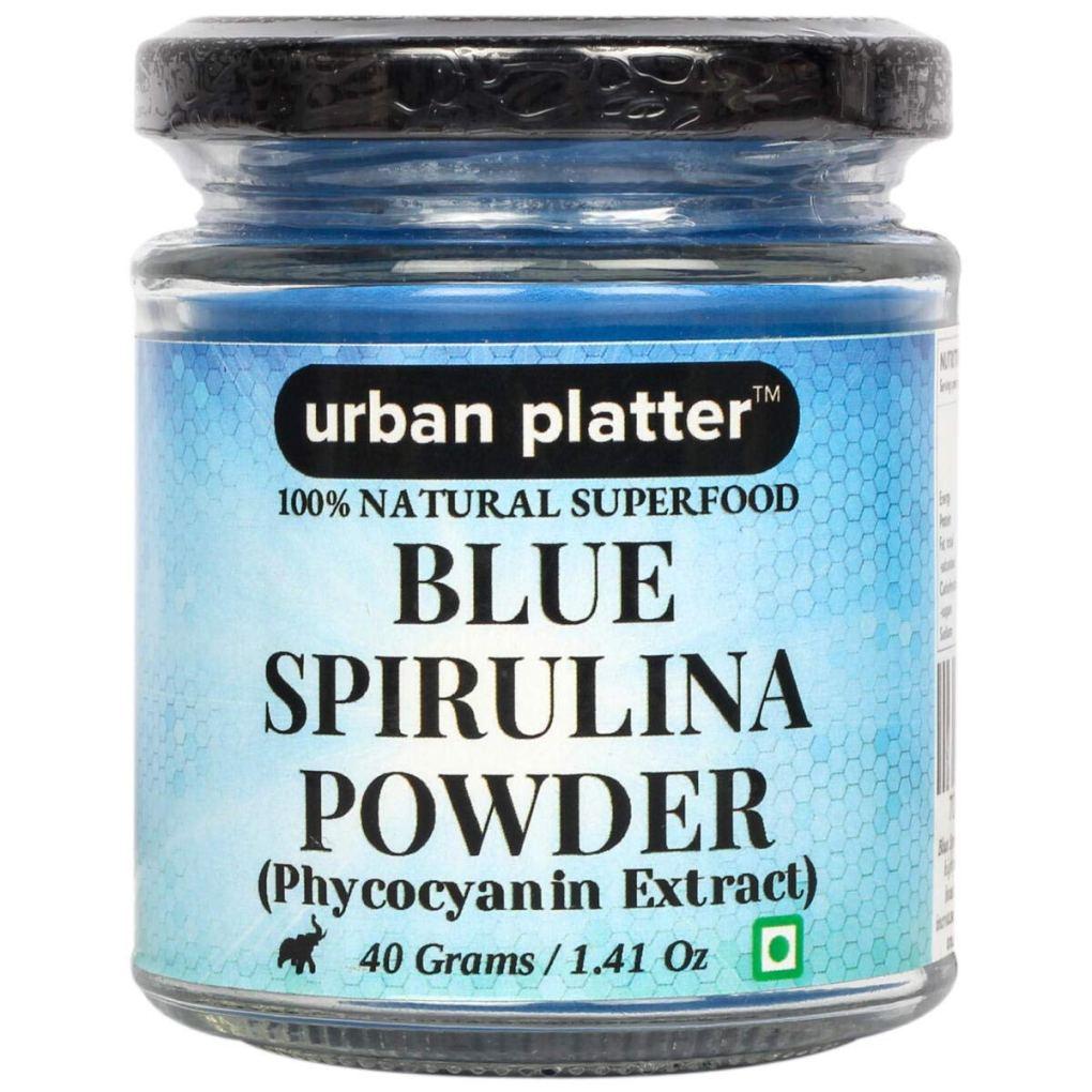 Urban Platter Blue Spirulina Powder, 40g