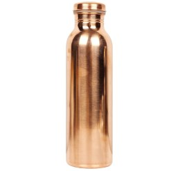 Urban Platter Joint Free 100% Pure Copper Water Bottle, 950 ML