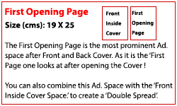 First Opening Page (Rs. 200,000)