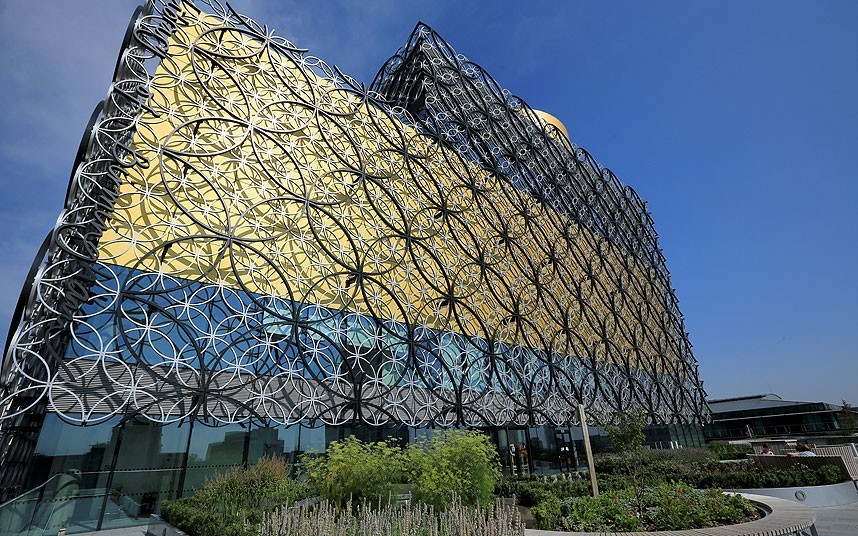 Architectural Highlights Of Birmingham City Library