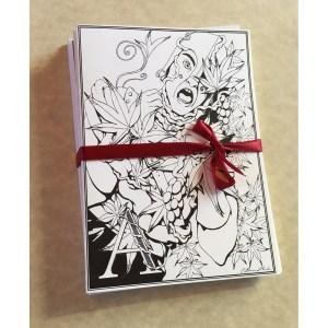 Assassin Vine Greeting Card Set