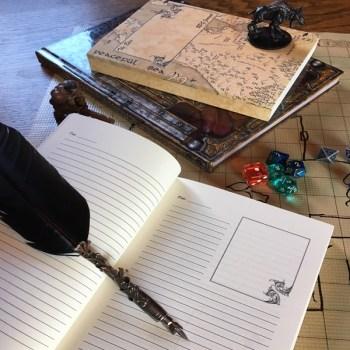 Epic gaming journal