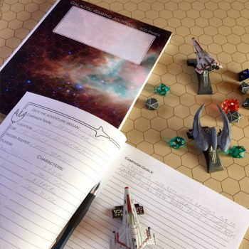 Galactic Gaming Journal 300 pages