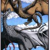 Wyvern poster or greeting cards