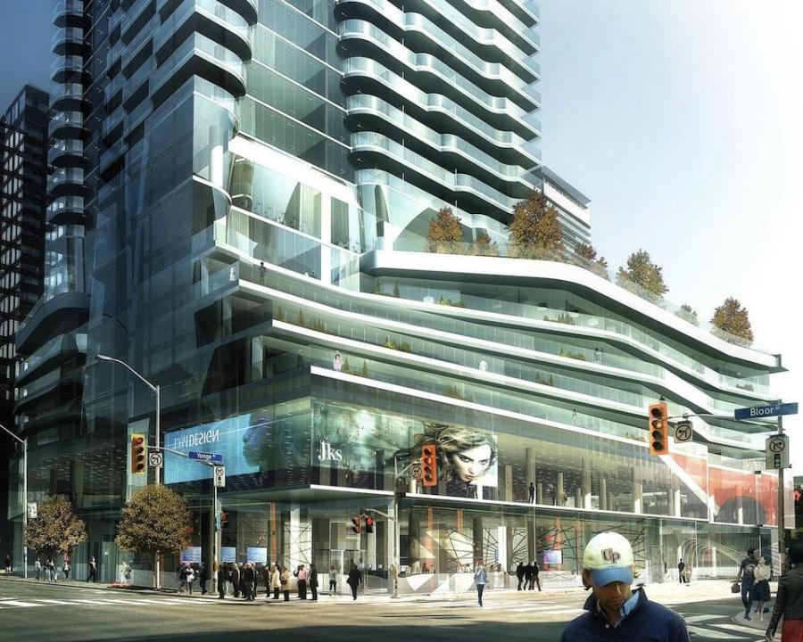 1 BLOOR EAST CONDOS - TOP FIVE NEW DOWNTOWN DEVELOPMENTS