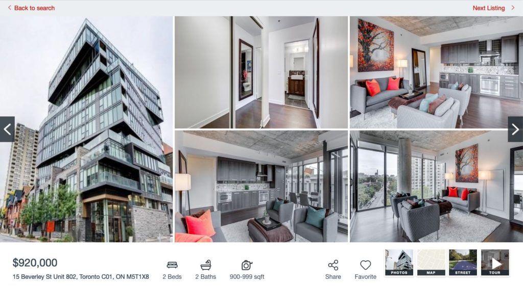 15 Beverley St - 2 Bedroom Condo for Sale - Contact Yossi Kaplan