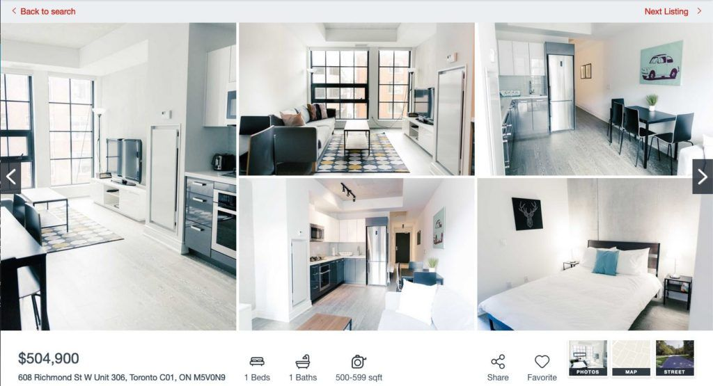 608 Richmond W The Harlowe - One Bedroom Condo for Sale - Contact Yossi Kaplan