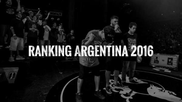 Ranking Freestyle Argentina