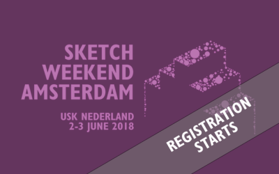 Registratie Sketch Weekend Amsterdam