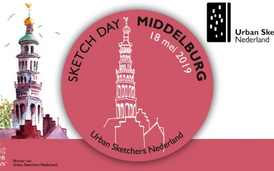National Sketch Day Middelburg – 18 mei 2019