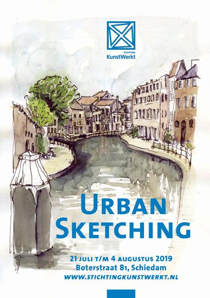 Urban Sketching in Schiedam