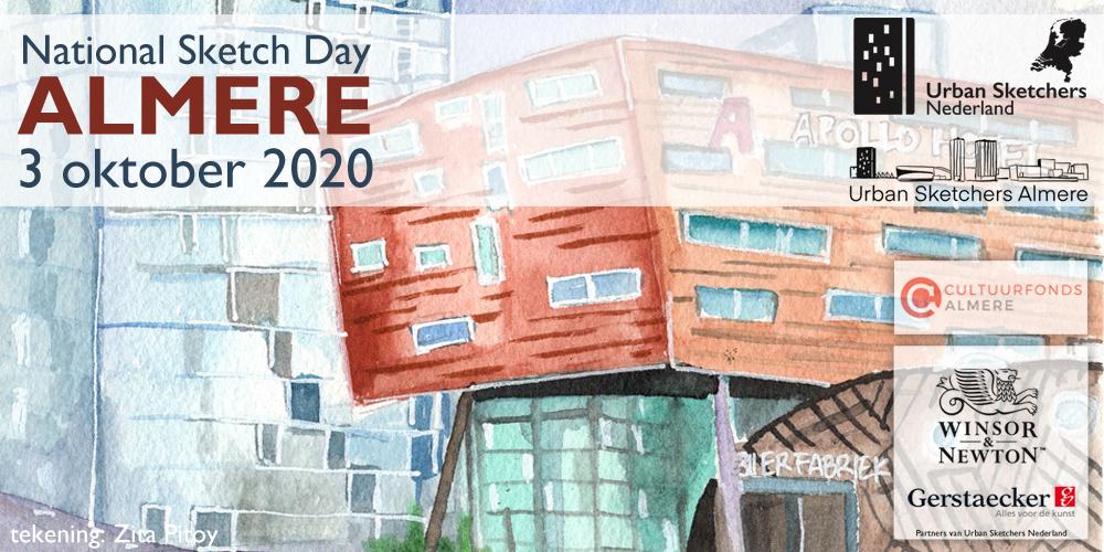 3 oktober 2020: National Sketch Day Almere