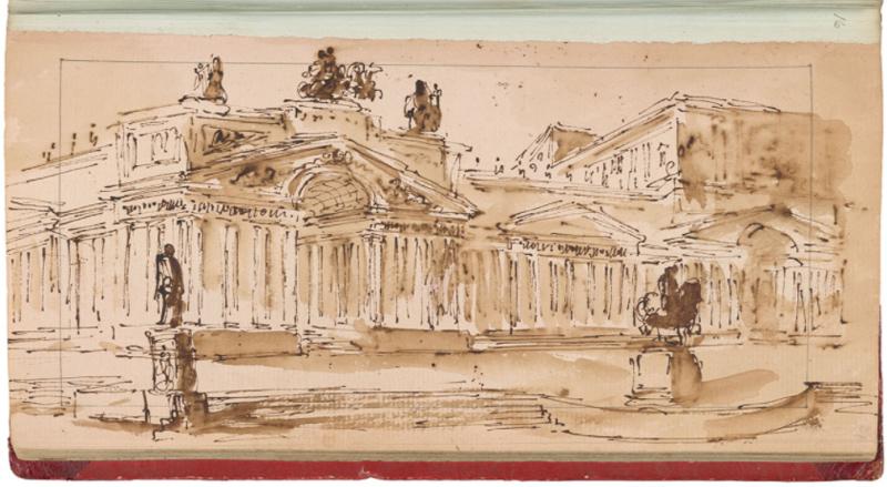 Historische schetsen (1) – Nu we toch thuis zitten: oude  Schetsboeken