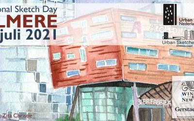 10 juli 2021: National Sketch Day in Almere