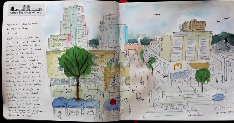 National Sketch Day Almere
