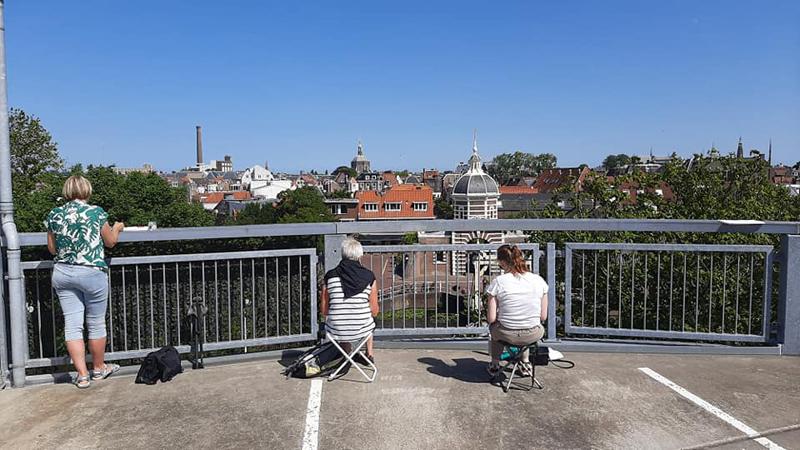 Nieuwe groep: Urban Sketchers Leiden