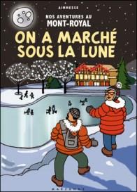 B Marinier Suzanne, on a march+® sou s la lune,Tintin-pastiche-lune