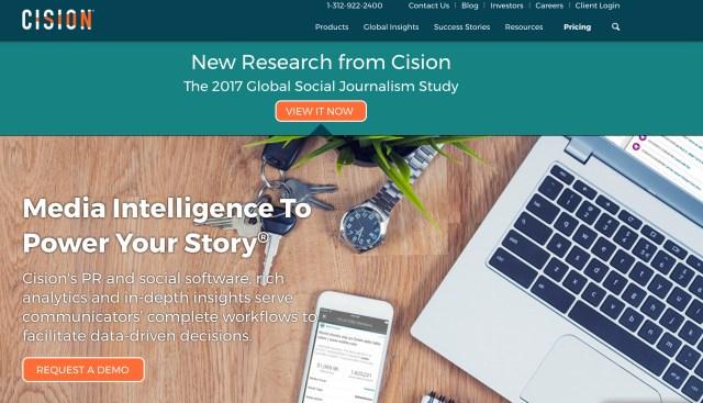 PR Newswire website
