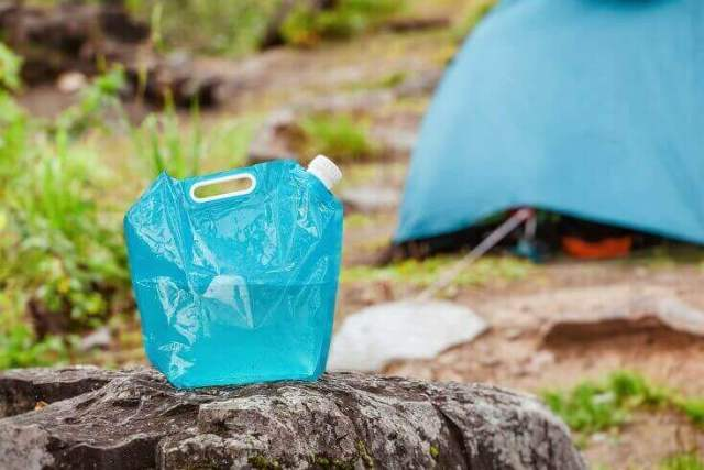 Tank of Water by Camping Site