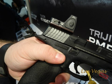 Shot Show 2016 Trijicon RMR + Slide Adaptor
