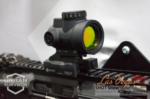 Kinetic Development Group Sidelok Trijicon MRO