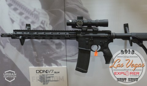 Daniel Defense DDM4V7 SLW SHOT Show 2018 (3)