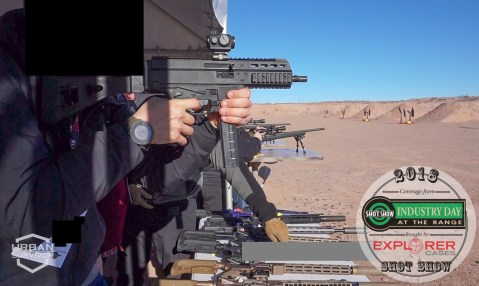 Geissele Brugger Thomet Trigger SHOT Show 2018 Industry Day at the Range