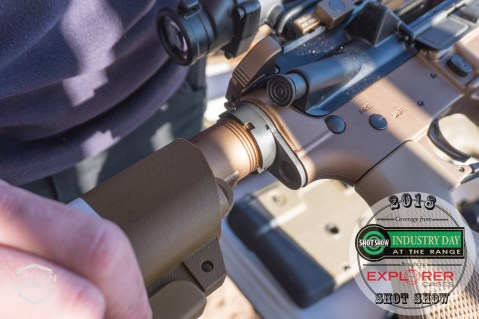 Geissele Buffer tube SHOT Show 2018 Industry Day at the Range