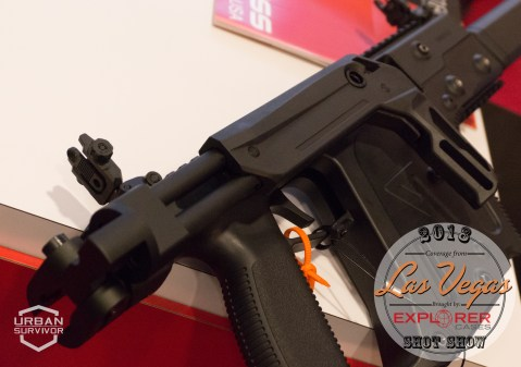 Kriss Vector 2018 Handguard Stock SHOT Show 2018 (4)
