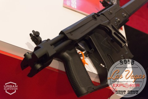 Kriss Vector 2018 Handguard Stock SHOT Show 2018 (5)