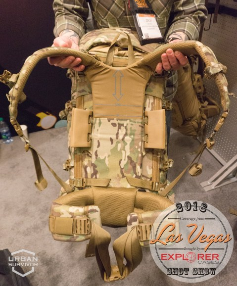 Mystery Ranch SPEAR Assault Patrol Recce Multicam SOCOM SHOT Show 2018 (6)
