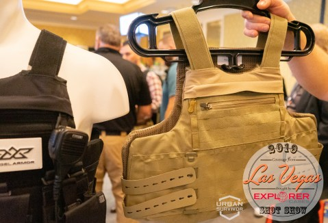 Angel Armor RISE 2.0 Plate Carrier SHOT Show 2019