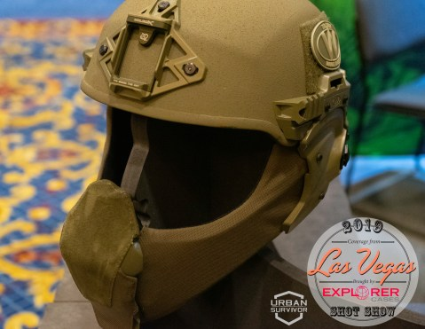 Team Wendy SHOT Show 2019 Exfil Mandible Carbon Ballistic Visor Multicam (1)