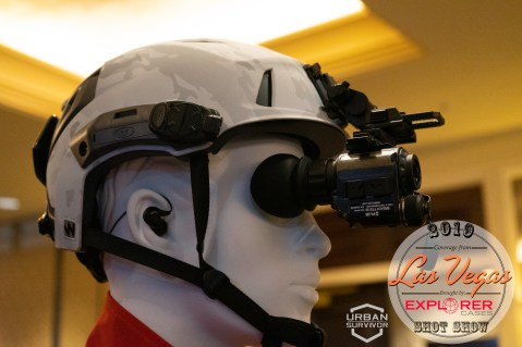 Team Wendy SHOT Show 2019 SAR Search And Rescue Helmet FLIR Breach