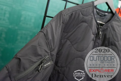 Outdoor Retailer Snow Show 2020 Beyond Clothing K3 - CLUTCH FIELD LINER Grey (1)