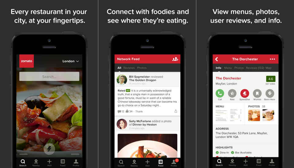 Fast Food Restaurant Apps