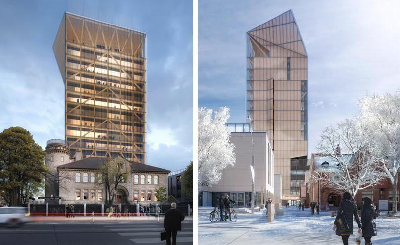 U of T Plans 14Storey TimberFrame Tower at Goldring