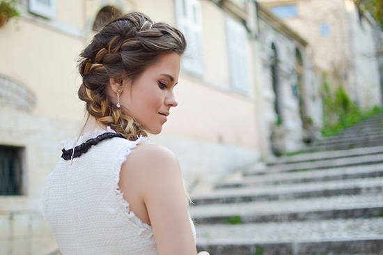 holiday hairstyle braid