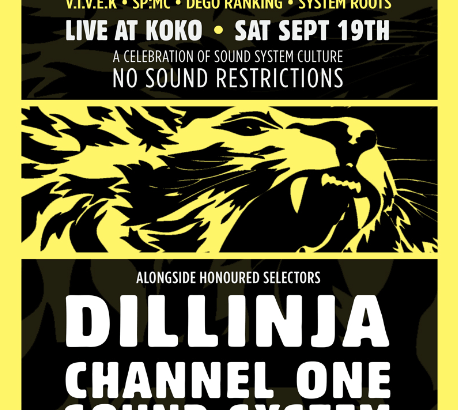 Soundcrash presents: System Sound feat. Vivek + System Roots & Dillinja, Kromestar, Channel one @ KOKO, London, UK (19th Sept)