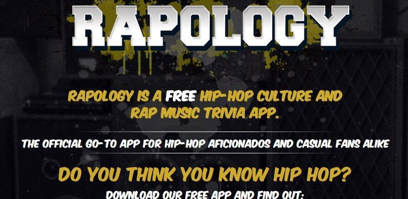 RAPOLOGY – THE HIP HOP TRIVIA APP for iPhone & Android