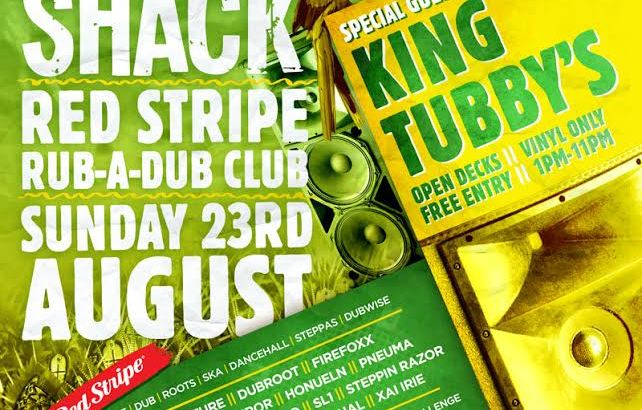 Rompa's Red Stripe Rub-A-Dub Club W/ King Tubby's @ Shapes, London, UK (23rd Aug)